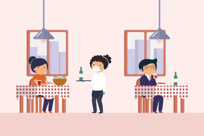 dicas para o seu restaurante retornar as atividades com segurança